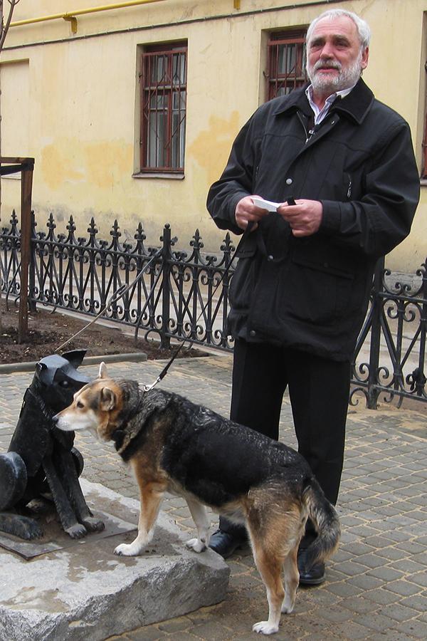 Добрая собака Гаврюша (фото с собакой)