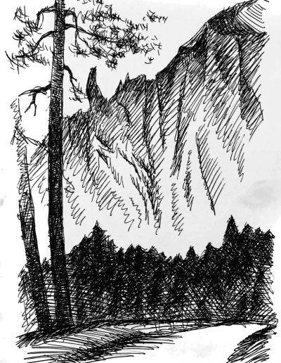 """""""Деревья и горы №6"""""""