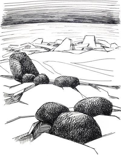 """Финский залив. """"Камни и лед"""""""